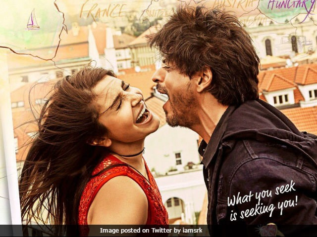 Jab Harry Met Sejal Poster: Will Anushka Agree To Be Shah Rukh Khan's Radha?