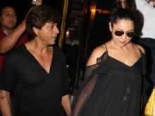 Pics From Shah Rukh Khan, Gauri's Dinner Date With Shweta Bachchan Nanda