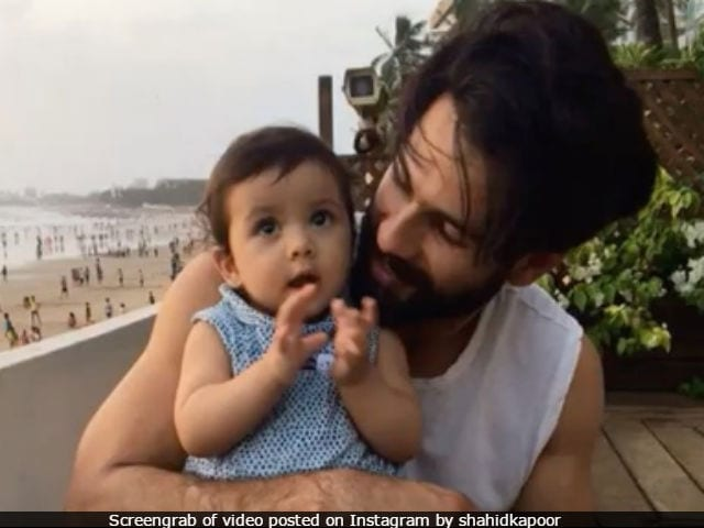 Shahid Kapoor's Daughter Misha 'Learns How To Clap.' Actor Shares Video