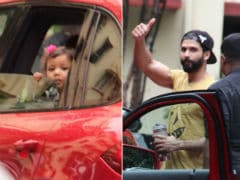 When Misha Came To Pick Up Shahid Kapoor From The Gym