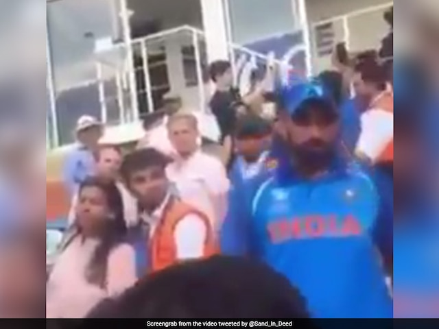 Dhoni Steps In As Shami Loses Cool Over Baap Kaun Hai Taunt From Pakistani Fan
