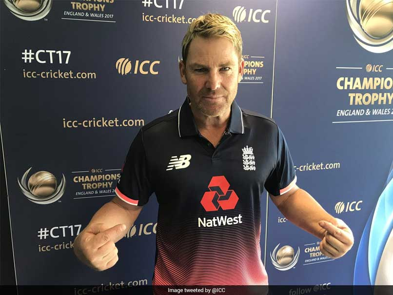 Australia legend Warne 'in a world of hurt' donning England shirt