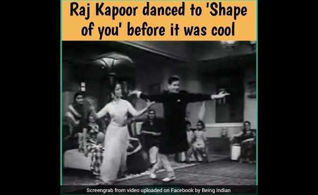 Viral: Raj Kapoor, Waheeda Rahman 'Dance' To Ed Sheeran's 'Shape Of You'