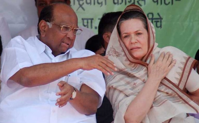 Maharashtra Polls: Sharad Pawar, Sonia Gandhi Meet For Seat-Sharing Talks