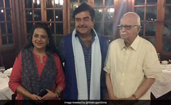 LK Advani For President, Lobbies Shatrughan Sinha, Claims Wide Support