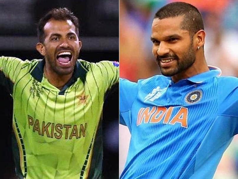 ICC Champions Trophy 2017, India Vs Pakistan, Face-Off: Wahab Riaz vs Shikhar Dhawan