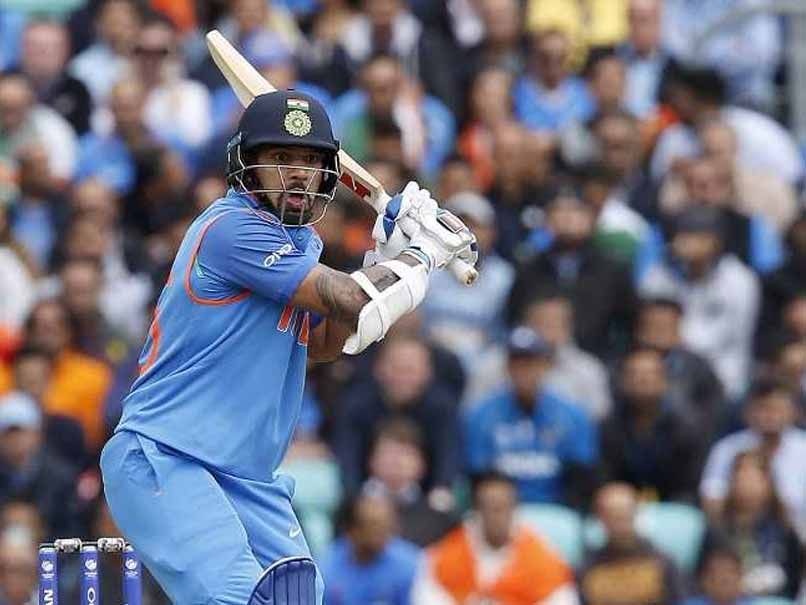 ICC Champions Trophy 2017: Shikhar Dhawan Shines For India, Cracks Fine Century Vs Sri Lanka