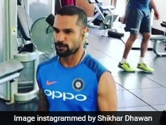 Shikhar Dhawan, Virat Kohli, Hardik Pandya Enjoy Fitness Session Ahead Of Third ODI Against West Indies