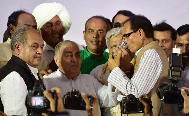 Congress Dubs Madhya Pradesh Chief Minister Shivraj Chouhan's Fast As 'Drama'
