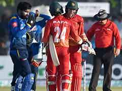 1st ODI: Zimbabwe Thrash Sri Lanka By Six Wickets