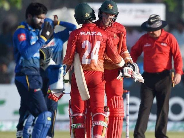 1st ODI: Zimbabwe Thrash Sri Lanka By Six Wickets
