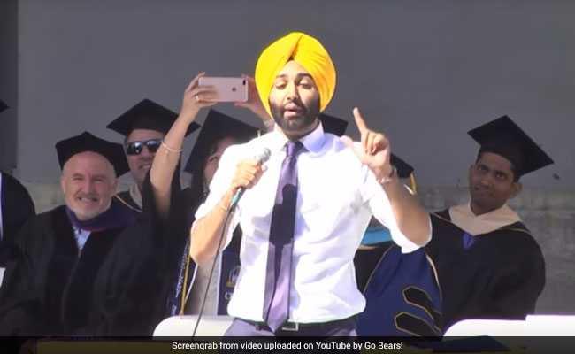 पंजाबी पुत्तर ने अमेरिकी यूनिवर्सिटी में दिया ऐसा भाषण, थमने का नाम नहीं ले रही थी तालियों की गड़गड़ाहट