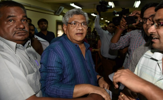 BJP Named Presidential Candidate 'Unilaterally', Says CPM's Sitaram Yechury