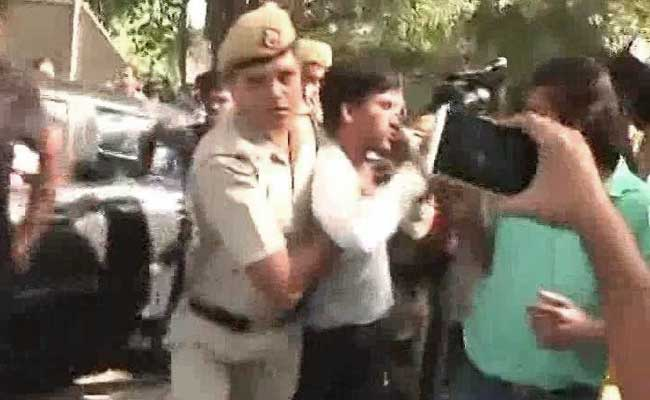 Attempt To Manhandle Sitaram Yechury During Media Briefing, 2 Arrested