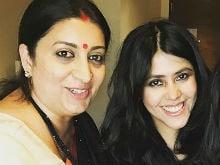 What Smriti Irani Told Ekta Kapoor About Making A Comeback