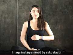 योग दिवस पर सोहा अली खान का तीखा वार, दिखाया बेबी बंप और बोलीं ये...