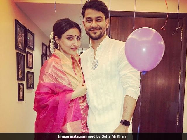 Soha Ali Khan Trolled For Wearing Sari In Pic, Told She's 'Not Muslim'