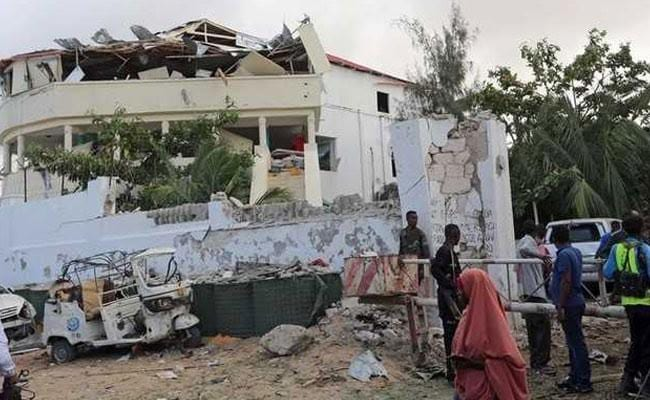 Big Explosion In Somali Capital, Clouds Of Smoke Seen : Reports