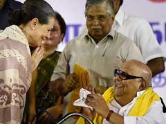 Ahead Of Presidential Poll, Sonia Gandhi's Birthday Wishes To Karunanidhi