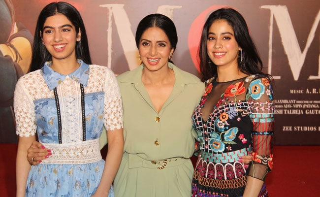 Sridevi Daughters Jhanvi And Khushi Kapoor Attend Mom -7568