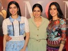 Sridevi's Daughters Jhanvi, Khushi Were The Stars At <i>MOM</i>'s Trailer Launch. Here Are Pics
