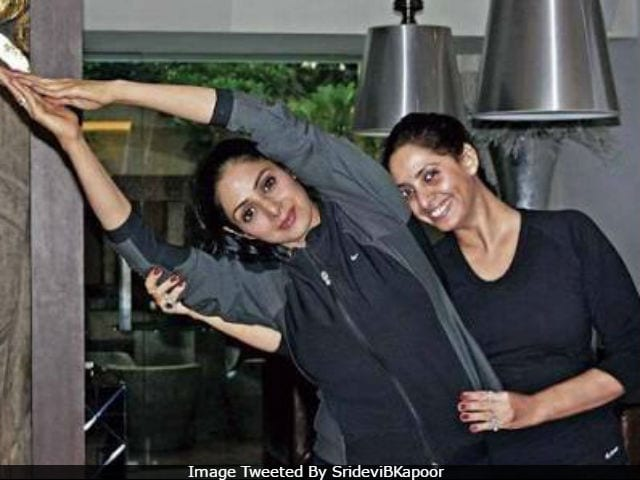International Yoga Day: Ever Seen Sridevi Doing Yoga? She's A Pro
