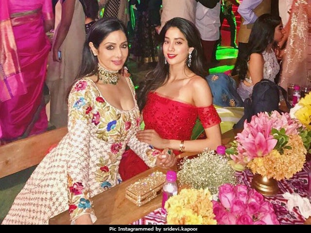 What Sridevi Said About Daughter Jhanvi's Debut And Being Styled By Her