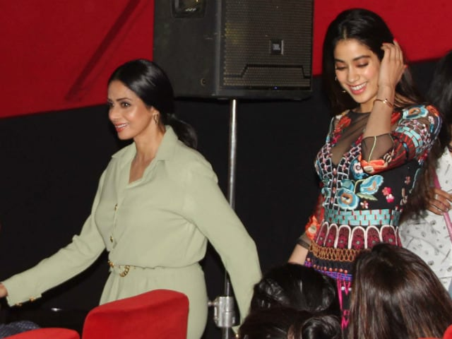 What Sridevi Said When Asked About Jhanvi's Bollywood Debut
