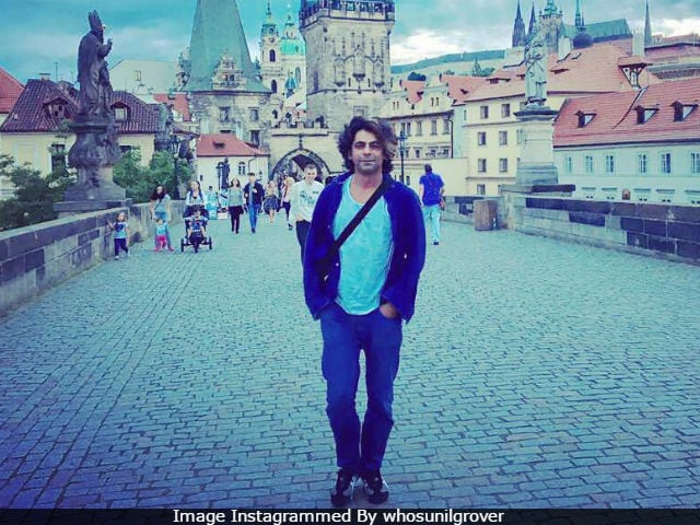 All Things Nice From Sunil Grover's Prague Diary