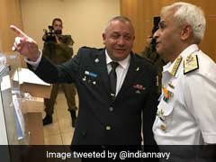 Indian Navy Chief Sunil Lanba Holds Talks With Chief Of Israel's Defence Forces