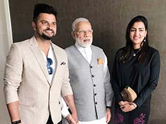 Suresh Raina Meets PM Narendra Modi In The Netherlands