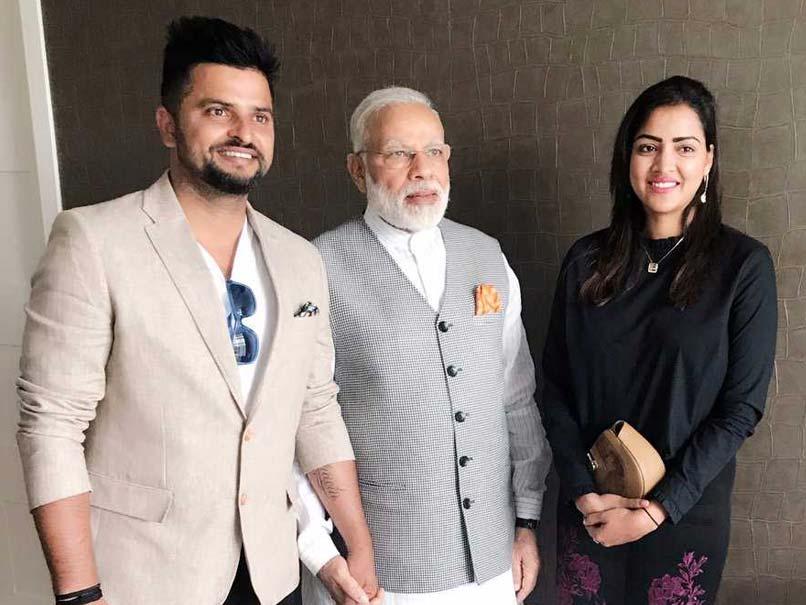 Suresh Raina Meets PM Narendra Modi In The Netherlands