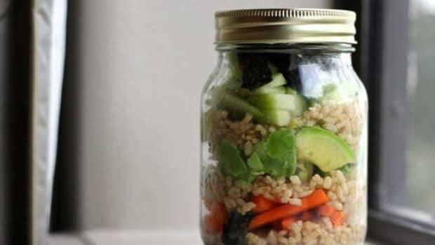 sushi in a jar