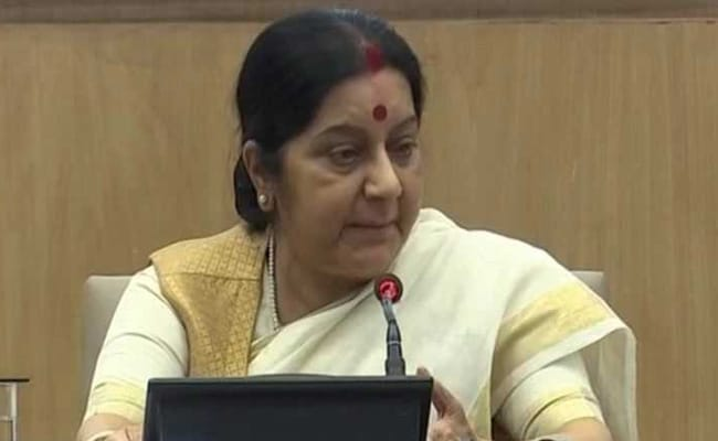 'We set up IITs, IIMs, Pakistan made Lashkar, Jaish', says Sushma Swaraj