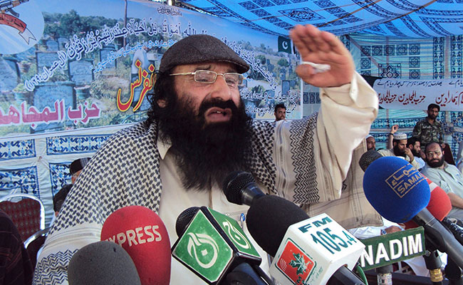 Hizbul Chief Syed Salahuddin's Son, Who Is Government Employee, Arrested