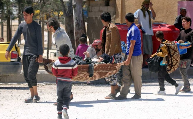 'Shocking' Conditions Await Civilians Fleeing ISIS In Syria