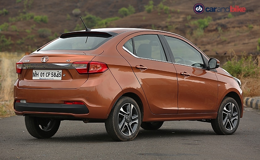tata tigor rear