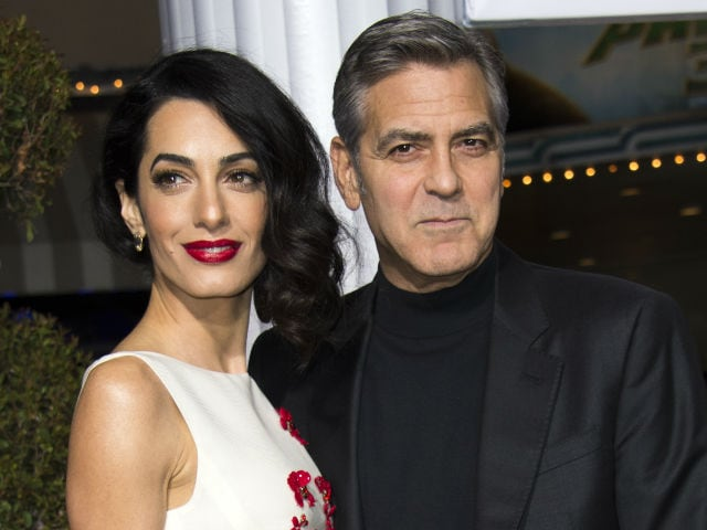 George And Amal Clooney Welcome Twins, Ella And Alexander