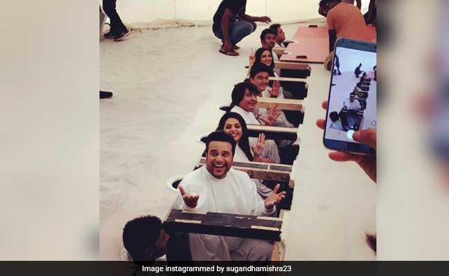 कृष्णा अभिषेक के नए शो की शूटिंग करती दिखी कपिल शर्मा की पुरानी टीम, देखें तस्वीरें