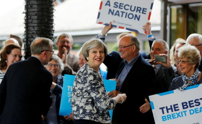On Eve Of UK General Election, Theresa May Tries To Put Focus Back On Brexit