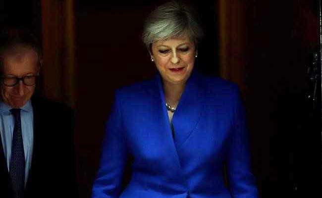 British Prime Minister Theresa May Says Will Govern With'Friends For Successful Brexit Deal