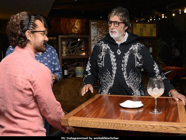 What Amitabh Bachchan And Aamir Khan Do When Not Shooting For Thugs Of Hindostan In Malta