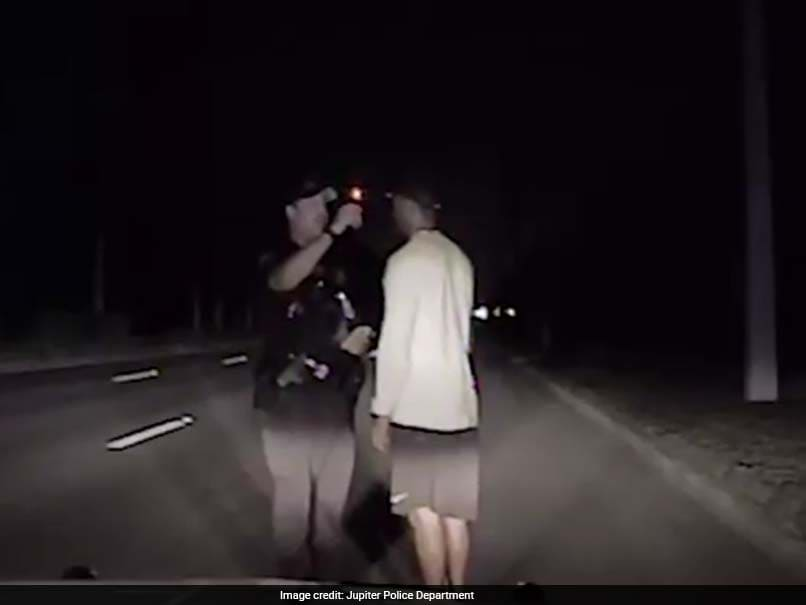 Tiger Woods Appears Unsteady, Disoriented In Police Dash-Cam Video Of DUI Arrest