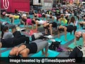 Month After Attack, Yogis Search For Serenity In Times Square