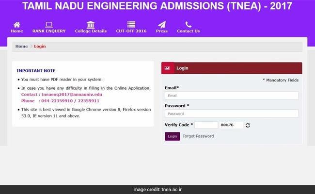 TNEA Counselling 2017: Anna University Releases Rank List @ Tnea.ac.in, Follow These Steps To Download