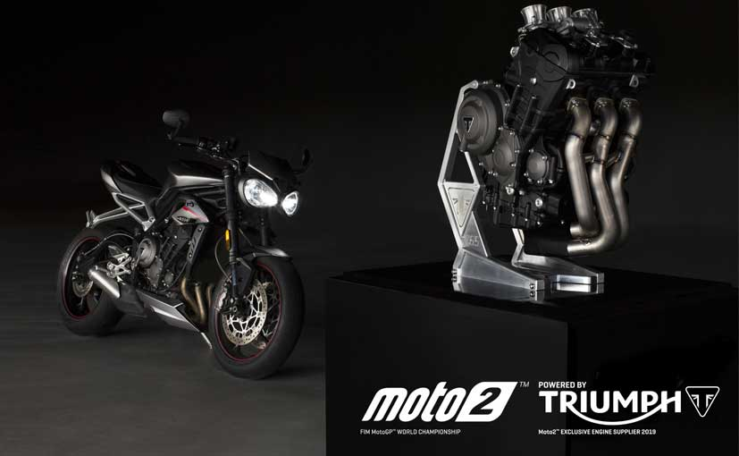 triumph  supply moto engines   ndtv carandbike