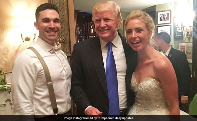 Donald Trump Crashes Wedding. For Real.