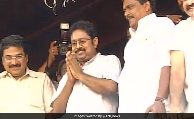 ttv dinakaran after jail bail chennai