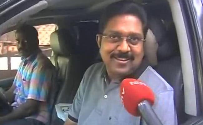TTV Dhinakaran Presses For CBI Probe Into Jayalalithaa's Death