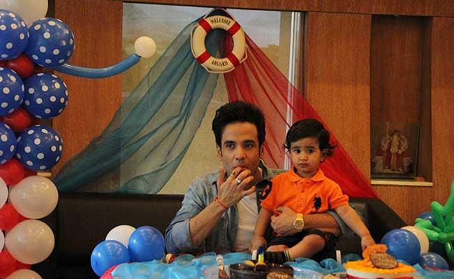 tushar kapoor lakshay birthday